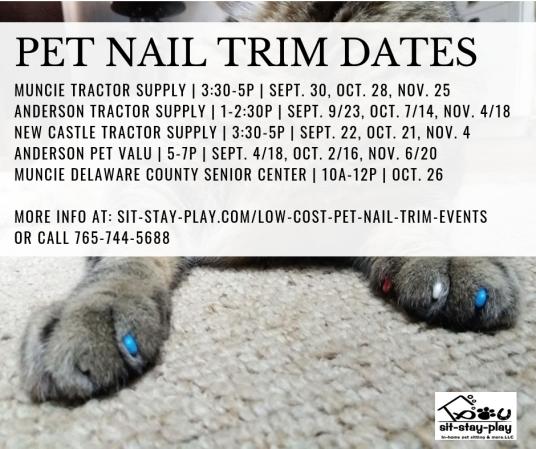 low-cost-pet-nail-trim-events-sept-nov