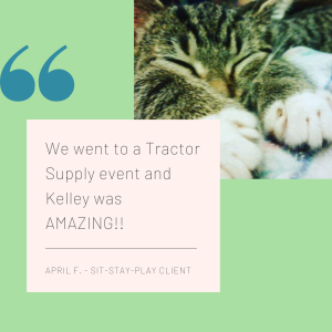 Quote from cat nail trim client at Muncie Tractor Supply